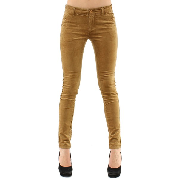 pantalon femme slim camel. Black Bedroom Furniture Sets. Home Design Ideas