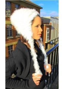 Bonnet Lapin - Blanc