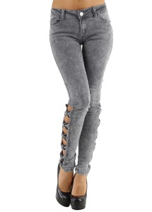 Jeans Noeuds - Gris
